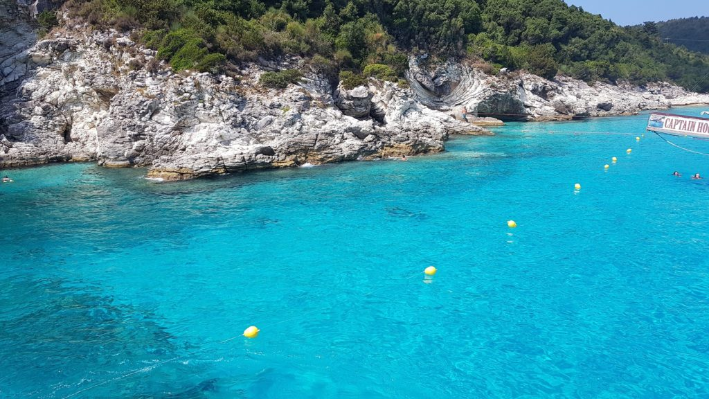 Blue Lagoon Tour - Antipaxos, Greece