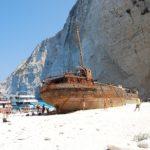 Paxos Island - Shipwreck beach