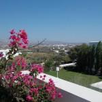 View from Lagos Mare Hotel, Agios Prokopios, Naxos
