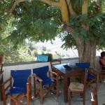 Café in Apeiranthos village, Naxos