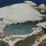 Beach of Sarakiniko, Milos - Photo by George Korovessis