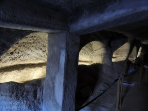 Catacombs of Milos - Photo by George Korovessis