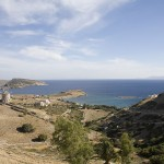 Mersini, the harbour of Schinousa, Mikres (Smaller) Cyclades