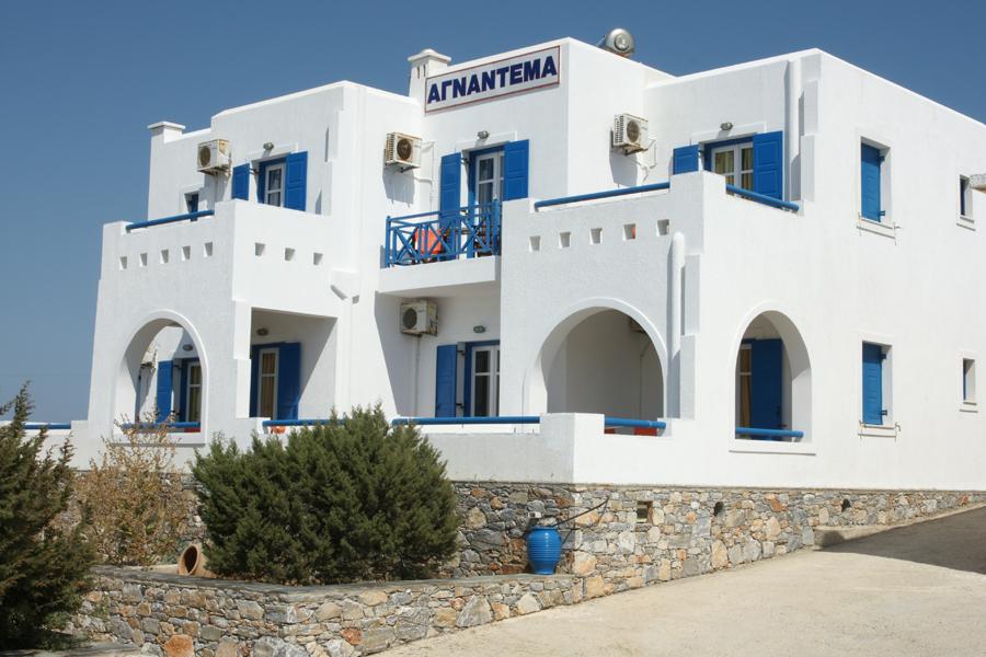 Hotel Agnadema, Iraklia island