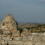 Ruins of the castle of Iraklia, Smaller Cyclades