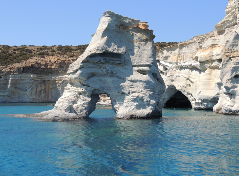 Kleftiko, Milos - Photo by George Korovessis