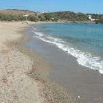 Livadi, the longest beach on Schoinoussa