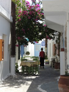 Plaka, Milos - Photo by George Korovessis