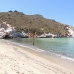 Plathiena Beach, Milos - Photo by George Korovessis