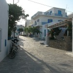 Chora is the largest village on the island, Schoinoussa
