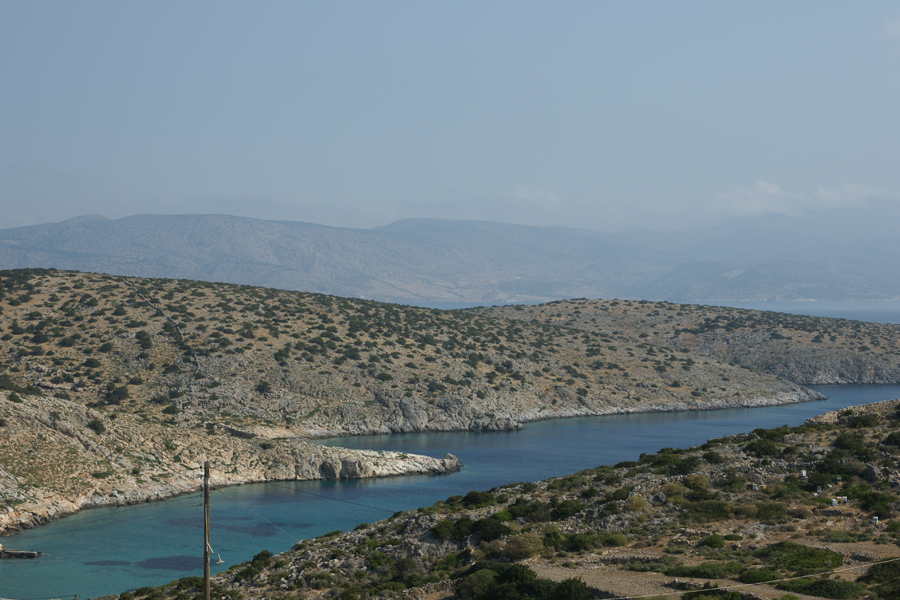 Vourkaria beach, Iraklia, Smaller Cyclades, Greece