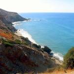 Colourful coast of Milos