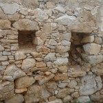 Ruins of the old fortress, Iraklia, Smaller Cyclades, Greece