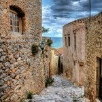 Alley in the castle of Monemvasia - S. Lambadaridis