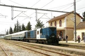 Kato Tithorea - railway station