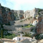 Monemvasia - the way up to the citadel