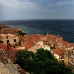 On the way to Ano Poli, Monemvasia