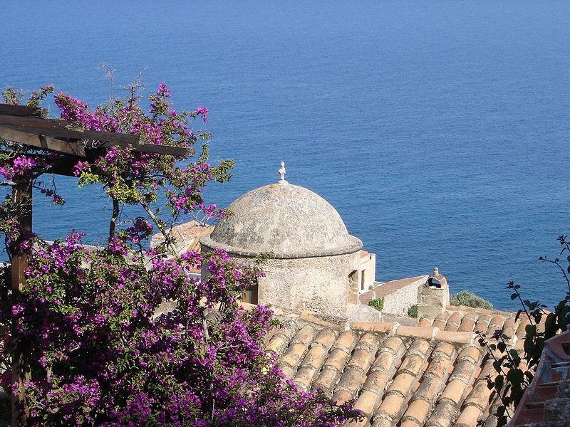 View from Monemvasia