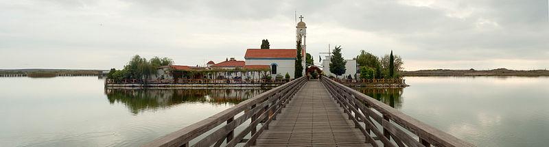 Agios Nikolaos at Porto Lagos, Vistonida Lake, Rhodope