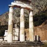 Delphi Tholos, detail