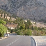 Delphi from the road
