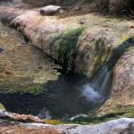 The hot springs of Thermes Loutra, Xanthi, Thrace