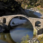 Bridge of Kompsatos river, Thrace