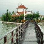 Orthodox church at Porto Lagos, Vistonida Lake, Xanthi Prefecture, Thrace