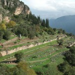 The Ancient Gymnasium at Delphi