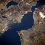 Patras Gulf - Satellite view