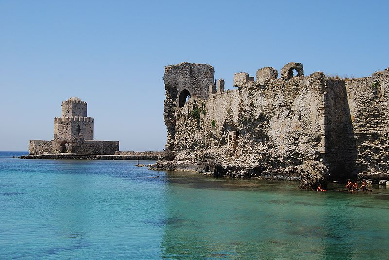 Methoni Castle - Burtzi, Messenia, Greece