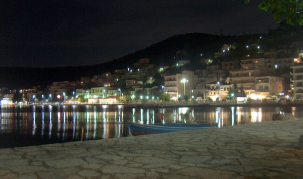 Amfilochia by night