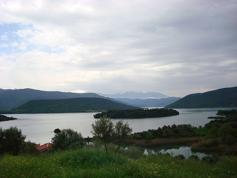 Kastraki Lake, yet another artificial lake of the area