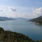 Kremasta Lake, the largest artificial lake in Greece