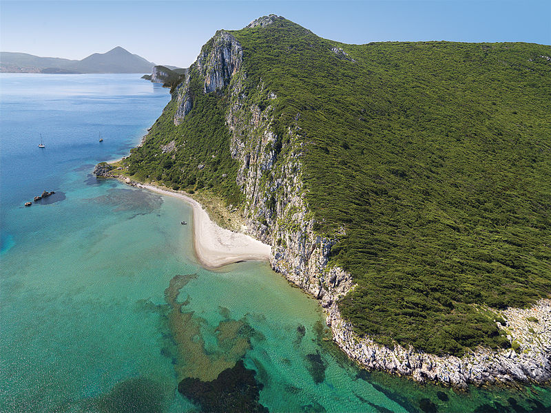 Glossa Beach, Messinia