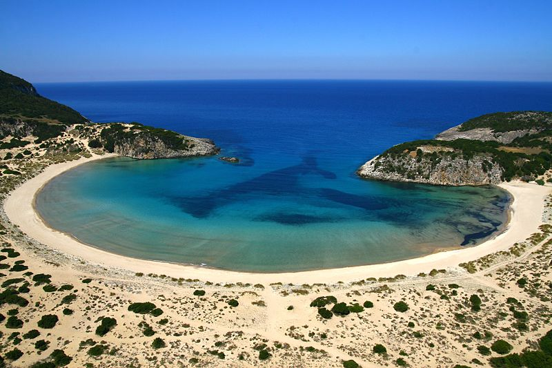 Gialova Lagoon and Voidokilia Beach in Messenia
