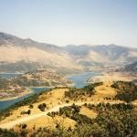 Mornos reservoir, seen from Northwest