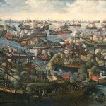 The Battle of Lepanto, National Maritime Museum, Greenwich, London