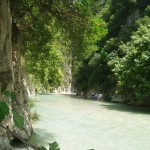 The springs of Acheron River, Epirus