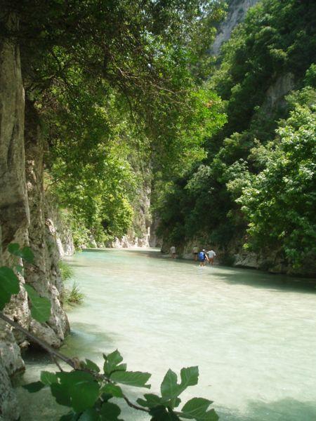 The springs of Acheron River, Epirus