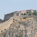 Palamidi castle above Nafplion