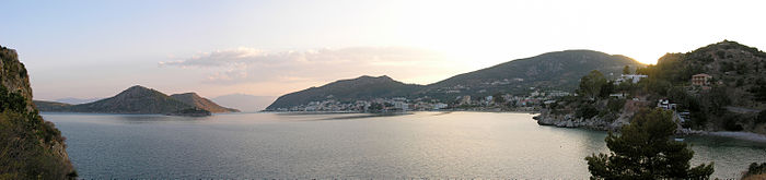 Panoramic view of Tolo, Argolida