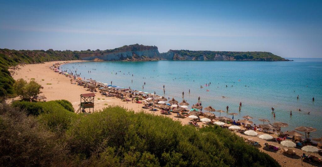 Gerakas beach Zante Zakynthos Greece