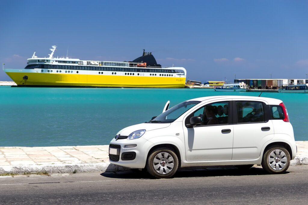 car rental transportation in Zakynthos Greece