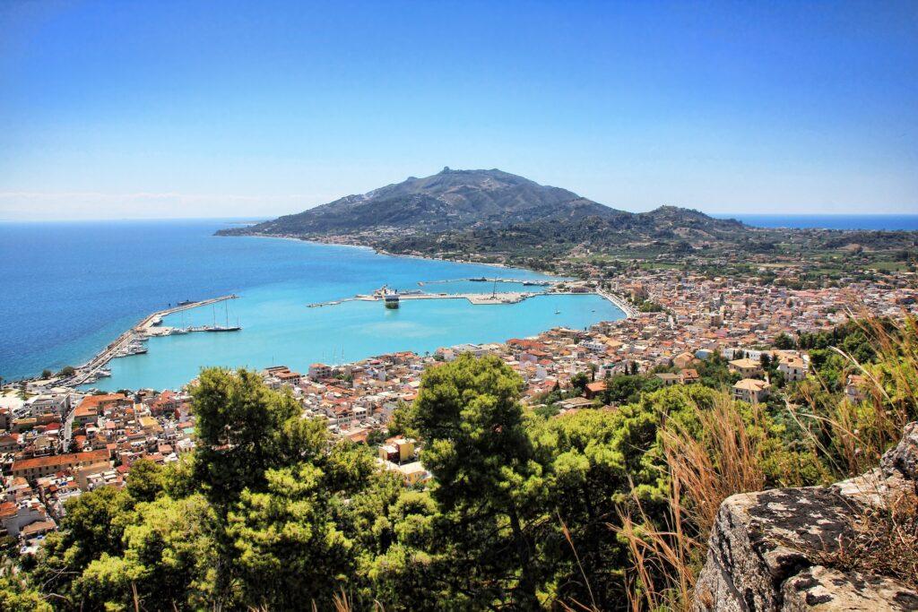 Chora, Zakynthos Town, Zante Greece
