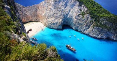 Navagio (shipwreck) beach, Zakynthos, Greece