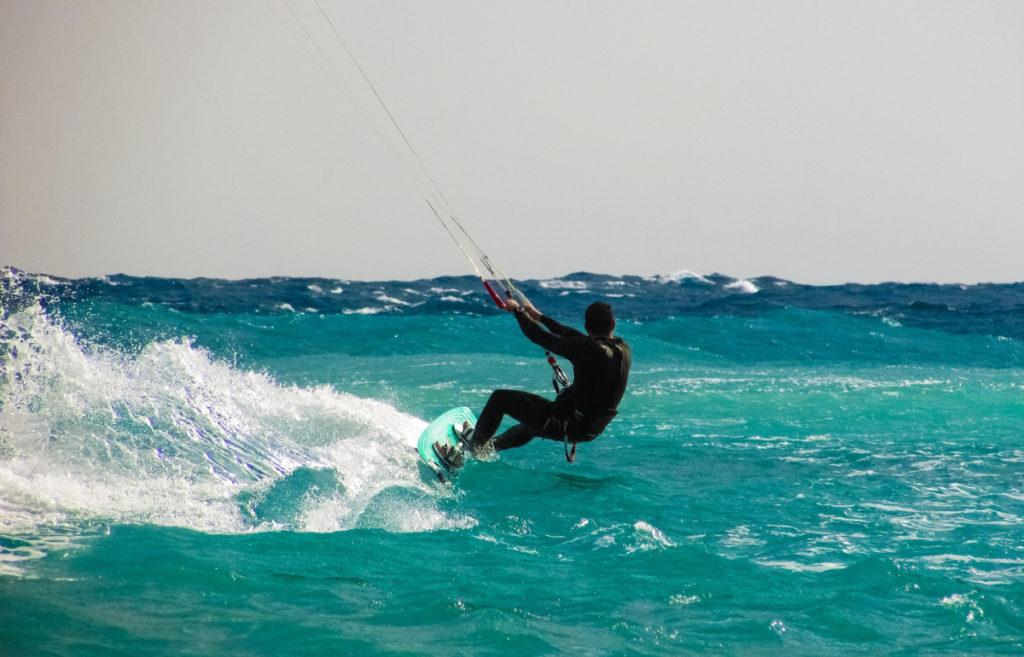Kite Surfing in Greece