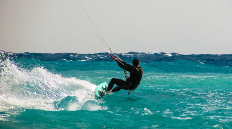 Kite Surfing in Greece