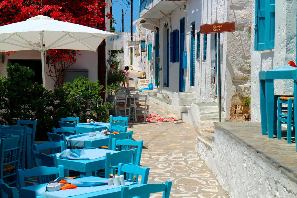 Cyclades ambience in Chorio Kimolou, Kimolos Cyclades Greece