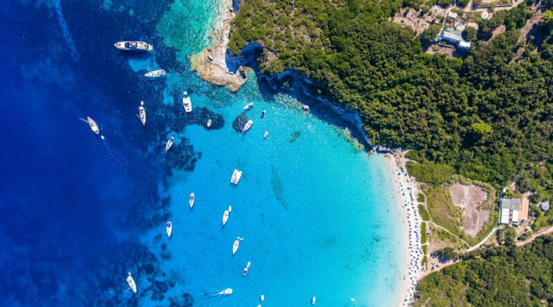 Paxos, Paxi, Ionian Sea, Greece